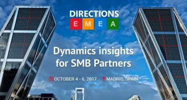 Microsoft, Directions EMEA 2017, October 4-6, Madrid, Spain!